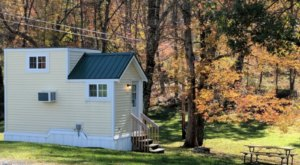 For Just $109 A Night, You Can Stay In A Tiny House At New River Cabins In West Virginia