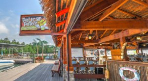 Immerse Yourself In A Tiki Paradise At Pelican Pete's Tiki Bar & Grill In Georgia