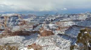 Utah's Little Grand Canyon Looks Even More Spectacular In the Winter