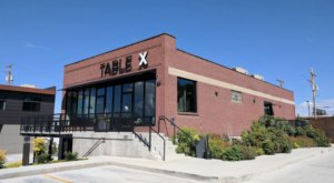 Located In An Abandoned Factory, Table X In Utah Offers Fresh Food Grown Onsite