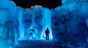 Experience Fire And Ice At This Year's Ice Castles In New Hampshire