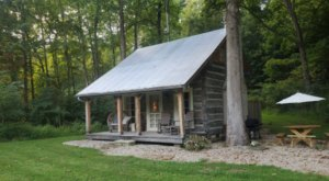 Stay In An 1800s Cabin Along A Creek At Coyote Creek Farm Near Cincinnati