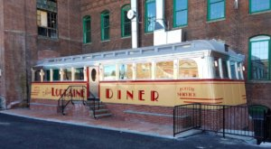 Rhode Island's Newest Diner, Miss Lorraine Diner, Sits In an Old Diner Car