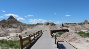 Fossil Exhibit Trail Is A Boardwalk Hike In South Dakota That Leads To Incredibly Scenic Views