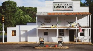 Built In The 1880s, Carter's General Store Is An Old-Fashioned Landmark You'll Love To Visit