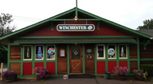 Dine Inside An Old Western Saloon At Winchester Cafe In Connecticut