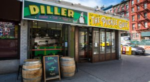 Diller Is A Pickle-Themed Restaurant In New York That's Right Next To The Ultimate Pickle Market Of Your Dreams