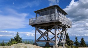 Hike To A Fire Tower With Stunning Panoramic Views At Mount Kearsarge North In New Hampshire