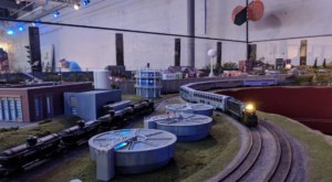 The 16,000-Square-Foot Indoor Train Park At Model Trains Station In South Carolina Proves There's Still A Kid In All Of Us