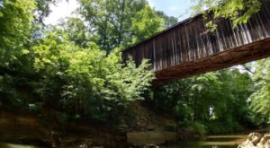 The Oldest Covered Bridge In North Carolina Has Been Around Since 1895