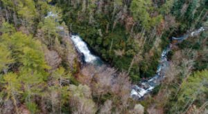 There's A Secret Waterfall In North Carolina Known As The Big Shoals, And It's Worth Seeking Out