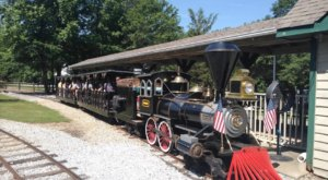 Your Kids Will Have A Blast At This Miniature Train Park In South Carolina