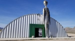 Alien Research Center In Nevada Just Might Be The Strangest Roadside Attraction Yet