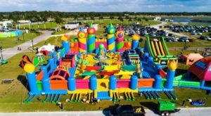 The World's Largest Bounce House Is Heading To Texas This Spring