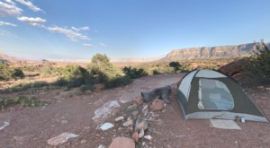 Sleep 3,000 Feet Above The Grand Canyon Floor At Tuweep Campground In Arizona