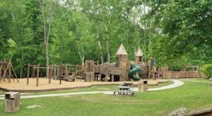 There's A Castle In West Virginia That's Also A Playground And It's A Young Adventurer's Happy Place