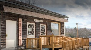 Some Of The Best Handmade Chocolates Are Found At Log Cabin Candies, A Rustic Gem In Maryland
