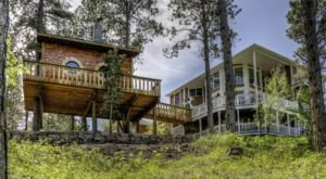 Sleep Among The Black Hills National Forest At This Tree House In South Dakota