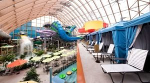 80,000-Square-Feet Of Rides And Slides Make Up The Kartrite Resort & Indoor Waterpark In New York
