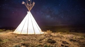 Enjoy A Front-Row Seat To Some Of The Darkest Skies On Earth At Las Estrellas Tipi In Texas
