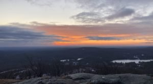 Enjoy A Surreal Sunrise When You Hike The Mount Watatic Trail In Massachusetts