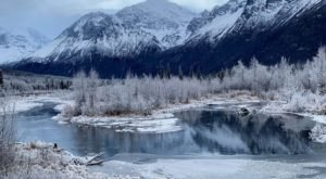 Take In The Frozen Alaskan Mountain Scenery On The Easy Rodak Nature Loop