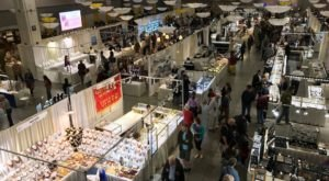 Hunt For Sparkly Treasures At The Tucson Gem, Mineral, & Fossil Show In Arizona