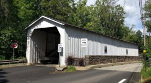 The Oldest Covered Bridge In New Jersey Has Been Around Since 1872