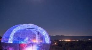 Spend A Clear Winter Night Under The Stars Inside The Stargazing Retreats Capsule In Arizona