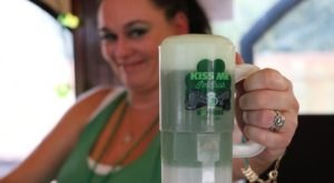 Drink Beer And Celebrate St. Patrick's Day On The Kiss Me I'm Irish Express Train In Texas