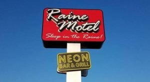 Fill Up On Delicious BBQ And Then Spend The Night At NEON Bar & Grill At Raine Motel In Nebraska