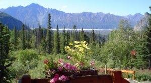 You'll Have A Front Row View Of Alaska's Matanuska Glacier At These Cozy Cabins