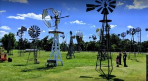 Take A Day Trip To The Quirky Shattuck Windmill Museum Where You'll Find Over 50 Windmills In Oklahoma