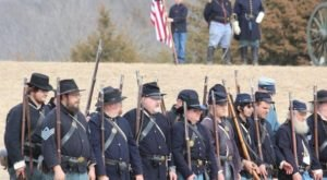 The Civil War Comes To Life At The Two-Day Battle Of Round Mountain Reenactment In Oklahoma