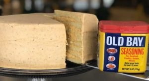 Maryland's Smith Island Cake Has Announced A New Old Bay Flavor And It Looks Absolutely Crabulous