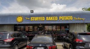 The Giant Baked Potato Menu At Texas' Stuffed Baked Potato Factory Is Spudtacular