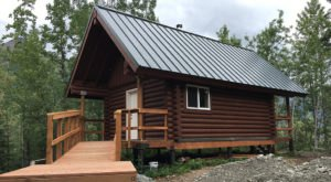 Stay Overnight In One Of These Cozy Public Cabins On Eklutna Lake In Alaska