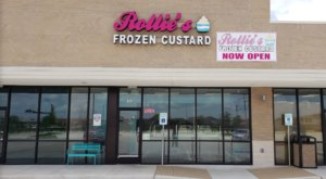 Indulge In Over 50 Flavors Of Frozen Custard At Rollie's, A Family-Owned Ice Cream Shop In Texas