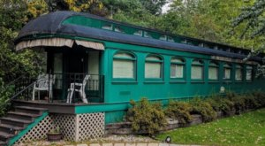 Spend The Night In An Authentic 1890s Railroad Caboose In The Middle Of Minnesota's Lake Country