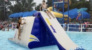 The Largest Pool Obstacle Course In The U.S. Is Coming To Coney Island In Cincinnati