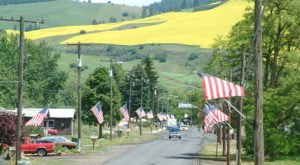 The Small Town Of Culdesac, Idaho Embraces Its History As A Hideout For Outlaws