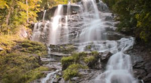 You Can Practically Drive Right Up To The Beautiful Amicalola Falls In Georgia