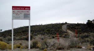 The Top Of Tikaboo Peak Is The Closest You Can Legally Get To Area 51 In Nevada