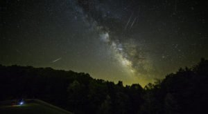 Surges Of Up To 100 Meteors Per Hour Will Light Up The Kentucky Skies During The 2020 Lyrid Meteor Shower This April