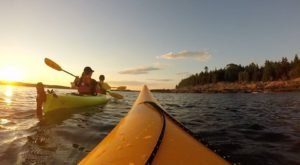 Spend An Afternoon Taking A Delightful Kayak Paddling Tour Of The Coast In Maine This Spring