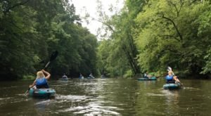 Take A Delightful Kayak Tour Through Cuyahoga River Or LaDue Reservoir In Ohio This Summer
