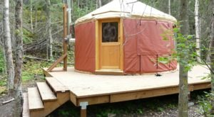 Escape From The Crowds And Rent A Yurt At Eagle River Nature Center