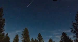 Surges Of Up To 100 Meteors Per Hour Will Light Up The Maine Skies During The 2020 Lyrid Meteor This April