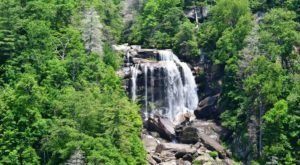 See The Tallest Waterfall In North Carolina At Nantahala National Forest