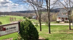Wake Up To Rolling Hills In The Heart Of Ohio Amish Country At Red Cottage Hideaway
